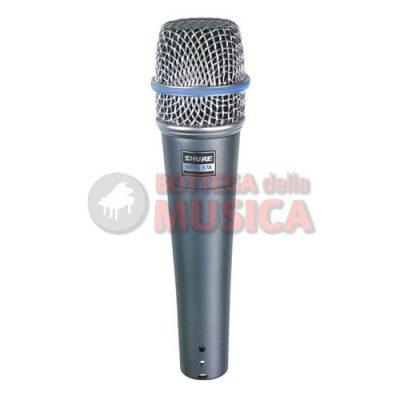 Shure beta57a microfono per strumenti
